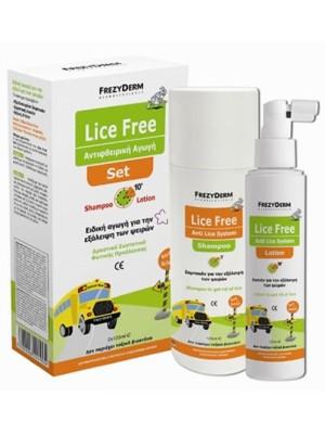 Frezyderm - Lice Free Shampoo & Lotion, 2x125 ml