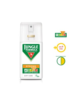Omega Pharma - Jungle Formula Strong Soft Care, insect repellent, 75ml