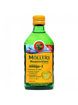 Mollers - Cod Liver Oil Natural Flavor, 250ml