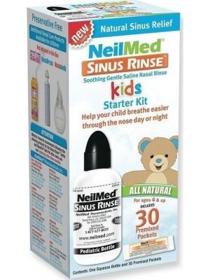 NeilMed - Sinus Rinse Pediatric Starter Kit Bottle & 30 Sachets