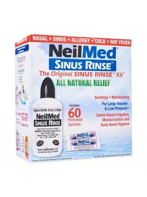 NeilMed - Sinus Rinse Original Kit Bottle & 60Sachets