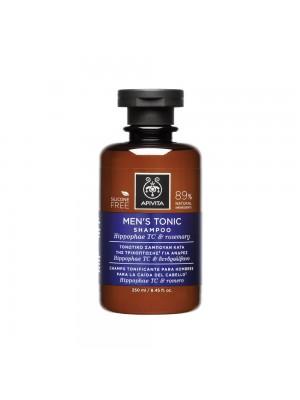 Apivita - HOLISTIC HAIR CARE Men's Tonic Shampoo with Hippophae TC & Rosemary, 250ml