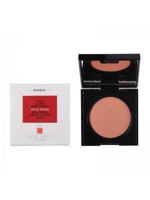 Korres - WILD ROSE Blush 42 Luminous Apricot, 5.5g