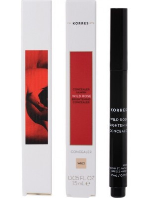 Korres - WILD ROSE Brightening Concealer WRC1, 1.5ml
