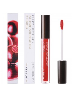 Korres - MORELLO Voluminous Lipgloss 54 Real Red, 4ml