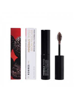 Korres - BLACK VOLCANIC MINERALS Tinted Brow Mascara - 02 Medium Shade, 4ml