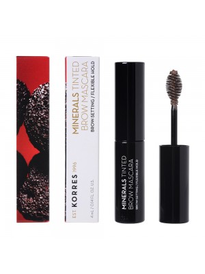 Korres - BLACK VOLCANIC MINERALS Tinted Brow Mascara - 03 Light Shade, 4ml