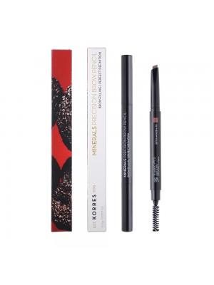 Korres - MINERALS Precision Brow Pencil - 02 Medium Shade, 0.2g