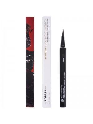 Korres - BLACK VOLCANIC MINERALS Liquid Eyeliner Pen 02 Brown, 1ml