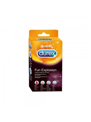Durex - Fun Explosion Condoms Collection, 18 Items