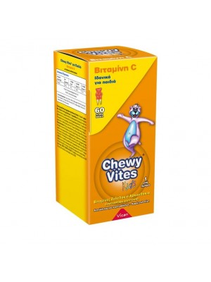 Vican - Chewy Vites, Βιταμίνη C Ζελεδάκια για Παιδιά, 60τμχ.