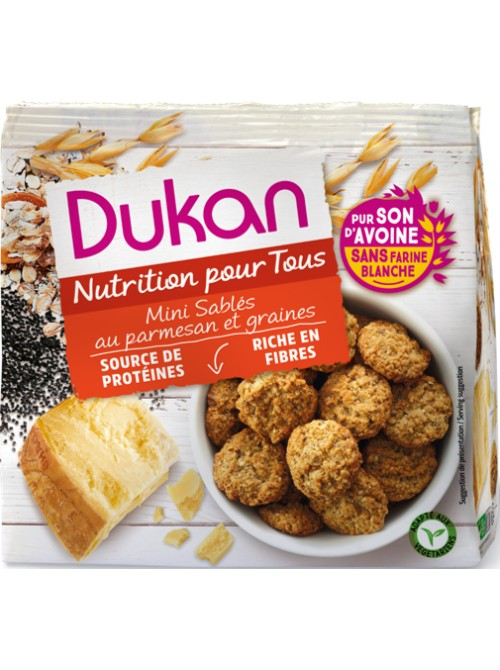 Dukan - Crackers with parmesan, 100gr