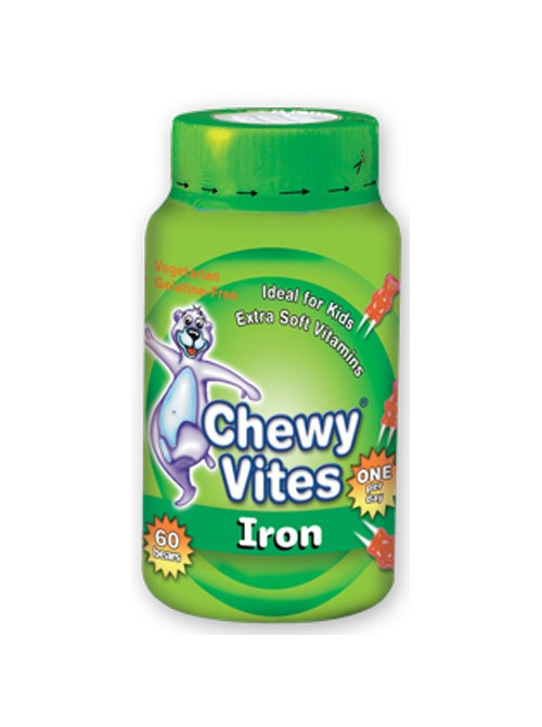 Vican - Chewy Vites Jelly Bears with Iron, 60 gums