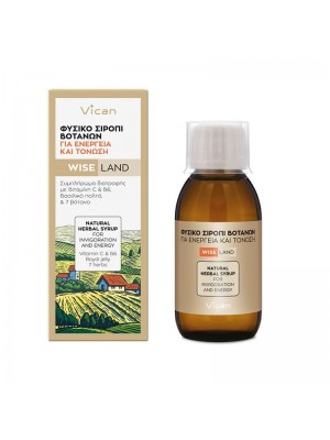 VICAN - WISE LAND natural herbal syrup, 120ml