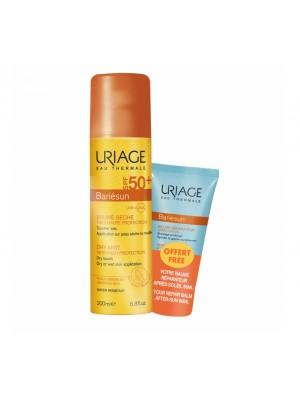 Uriage - Bariesun Dry Mist SPF50+ 200 ml & Repairing Balm After Sun, 50ml