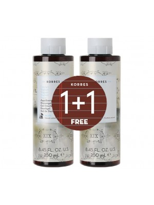 Korres - 1+1 FREE Yogurt Showergel, 2x250ml