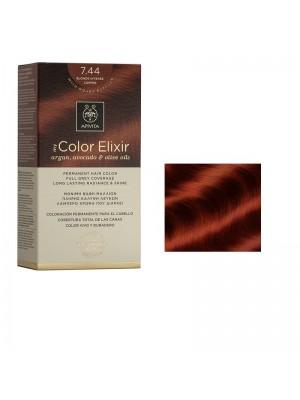 Apivita - 7.44 Blonde intense copper, 50ml+75ml+15ml