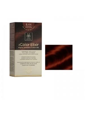 Apivita - 6.44 Dark blonde intense copper, 50ml+75ml+15ml