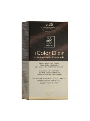 Apivita - 5.35 Light brown gold mahogany, 50ml+75ml+15ml