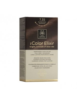 Apivita - 7.35 Blonde gold mahogany, 50ml+75ml+15ml