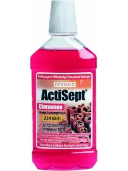 intermed - Actisept mouthwash, cinnamon flavour, 500ml