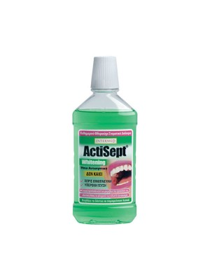 intermed - Actisept mouthwash, whitening, 500ml