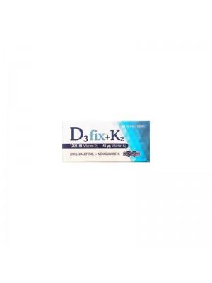 Uni-Pharma - D3 Fix 1200iu + K2 45mg D3 Και K2, 60 Tabs