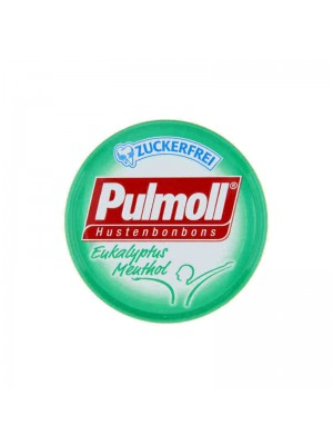 Pulmoll - Throat candies with Eucalyptus & Menthol, 45g