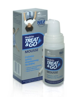 Hedrin - Treat & Go Mousse, 100 ml