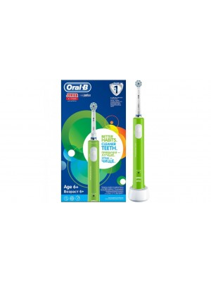 Oral-B - JUNIOR HBOX 6+ Years Green Electric Toothbrush, 1 Item