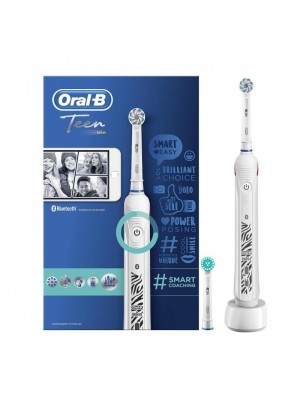 Oral-B - Teen Smart Coaching White electric toothbrush, 1τμχ