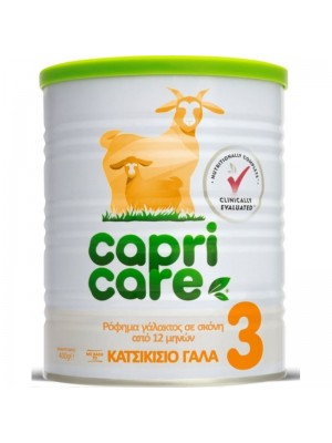 Capricare - 3 Goat Milk From 12th Month, 400gr