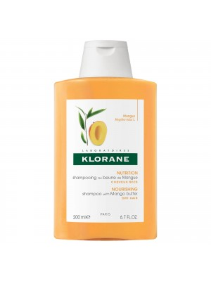 Klorane - Shampoo with Mango Butter for Nourish Restructuring, 200ml