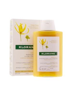 Klorane - Sun Radiance Nourishing Shampoo with Ylang-Ylang Wax, 200ml