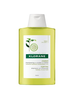 Klorane - Shampoo with Citrus Pulp Normal to Oily Hair, 200ml