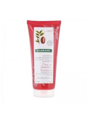 Klorane - Nourishing Shower Cream with Organic Cupuaçu Currant Bush Flower, 200ml