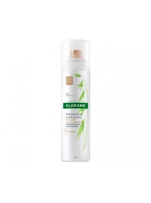 Klorane - Dry Shampoo Without Water Natural Beige Color, 150ml