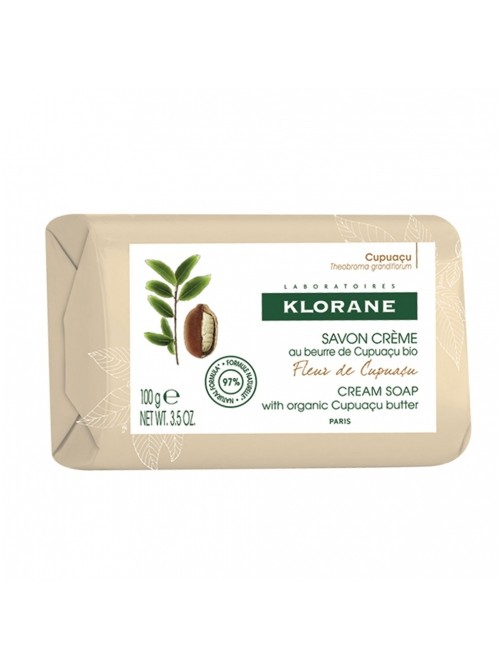 Klorane - Cupuaçu Flower Cream Soap , 100gr