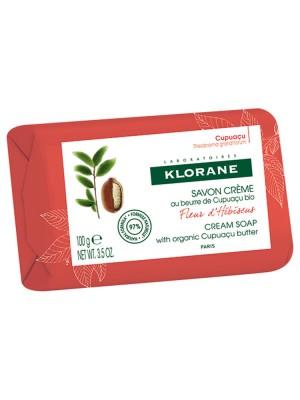 Klorane - Hibiscus Flower Cream Soap, 100gr