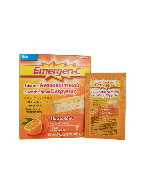 Emergen-C - Orange, 10 sachets