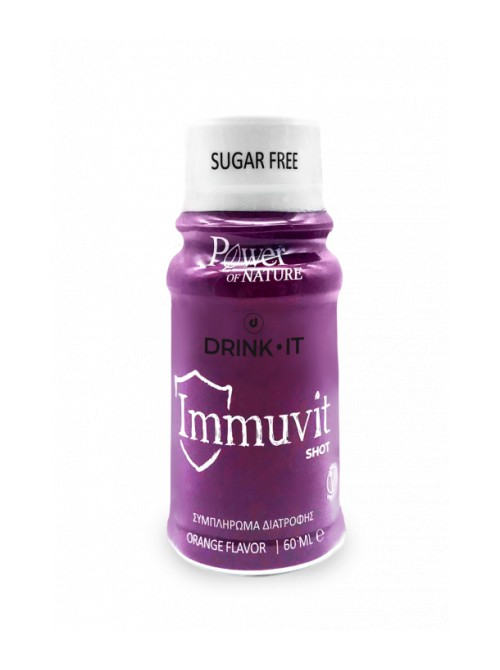Power Health - Drink It Immuvit Shot orange, 60ml