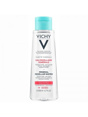 Vichy - Purete Thermale Mineral Micellar Water for Sensitive Skin, 200ml