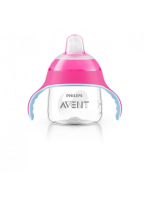 Philips AVENT - My Penguin Sippy Cup, Pink, 200ml, SCF751/07