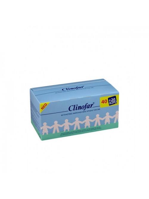 Clinofar - Sterile Water, 40+20