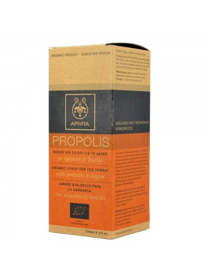 Apivita - Propolis Organic Syrup For The Throat, 150ml