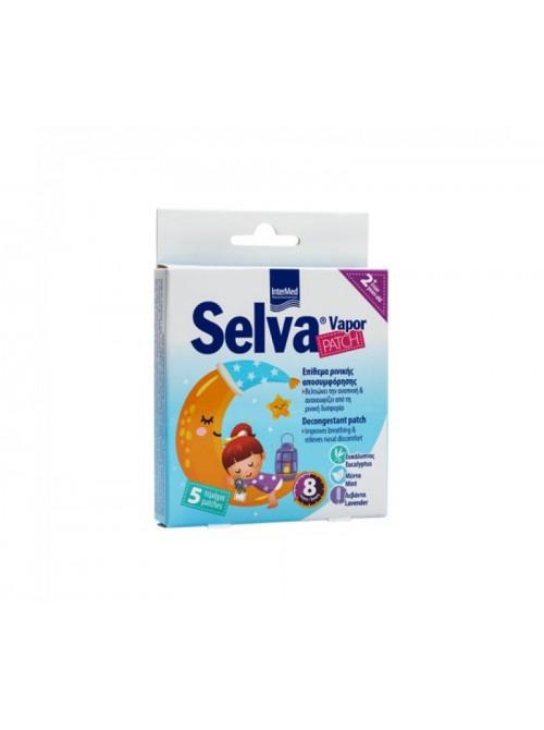 Intermed - Selva Vapor Patch Decongestant Patch, 5p