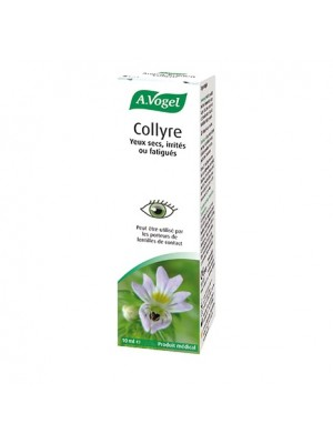 A.Vogel - Eye Drops Collyre -Drops with Hyaluronic Euphrasia for Dry Tired and Irritated Eyes, 10ml