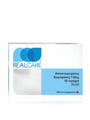 RealCare - Sterilized Gauze Sponges 36x40cm, 10pc