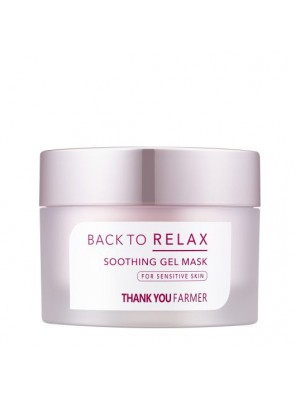 Thank You Farmer - Back to Relax Soothing Gel Cream, 100ml