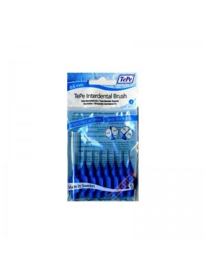 TePe - Interdental Brush blue 0,6mm, 8 Brushes